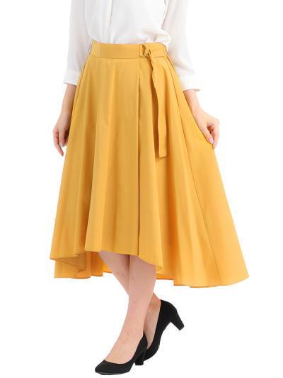 タイプライターフィッシュテールスカート