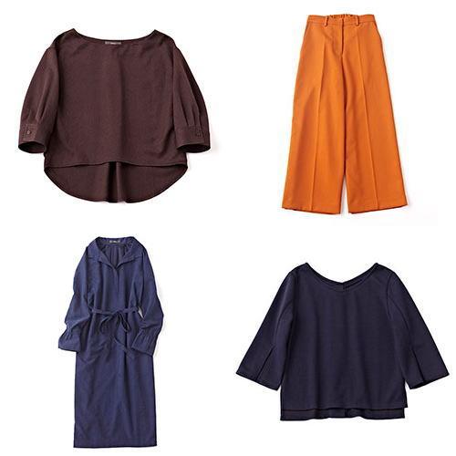 ワーキングママ服装コーディネート【D】
