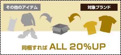 フクウロ宅配買取の【査定ブランド】リスト「A~Z」がコレ!