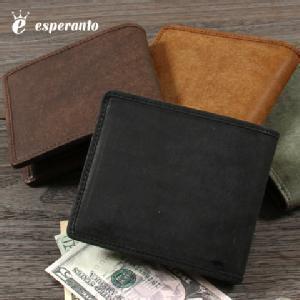 エスペラント[二つ折り財布]