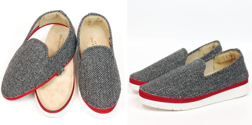 ジョニー&ジェシー【靴】アッパーとソールがジッパーで取り外しできる[着せ替えシューズ]