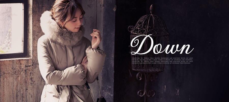 良く細く見えるスタイルのダウンコート厳選【14選】大人の女性のための[ルイルエブティック]ダウンコート