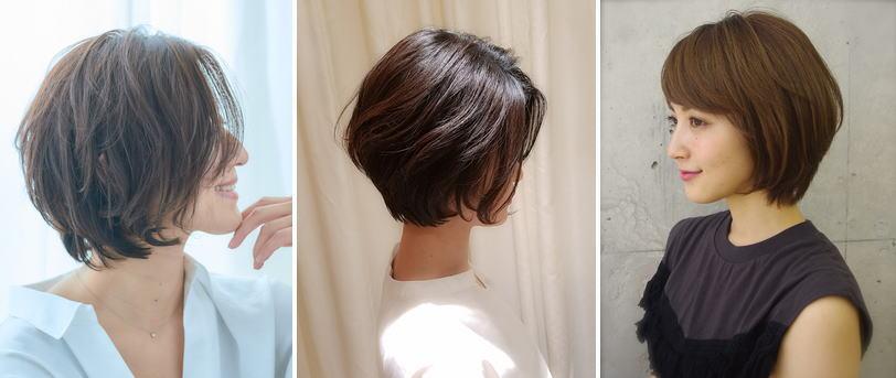 髪型ショートボブのパーマ編【レディースヘア】|パーマ【ショートボブ】厳選【5選】