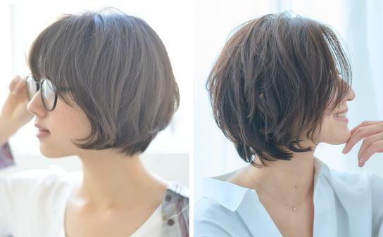 髪型[ショートボブ]前髪ありのレディースヘア!|前髪あり【ショートボブ】厳選【5選】